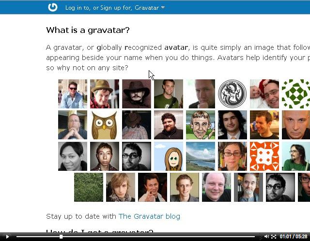 Comment utiliser GRAVATAR sur un blog ?
