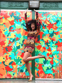 Musician, DJ and model Solange Knowles shows us what she's wearing every day for a month