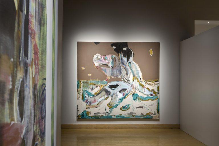 Exposition Prémices/Open-Ended of artist Manuel MATHIEU