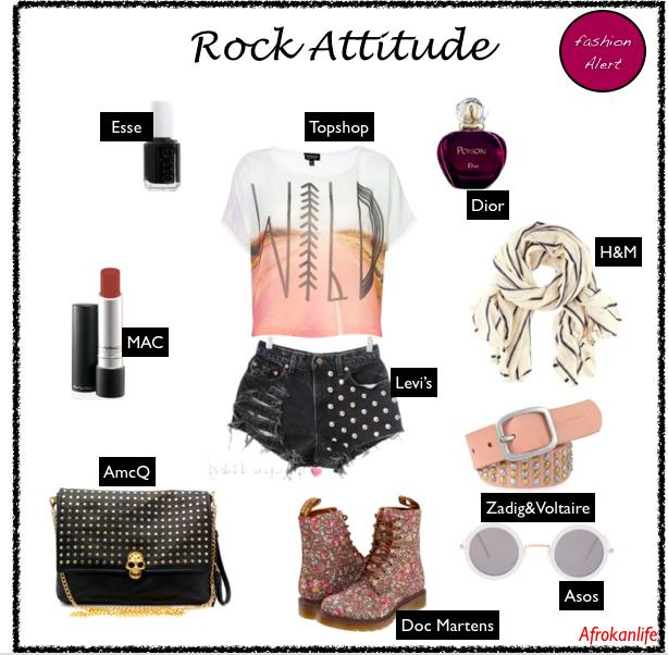 Comment porter la tendance rock