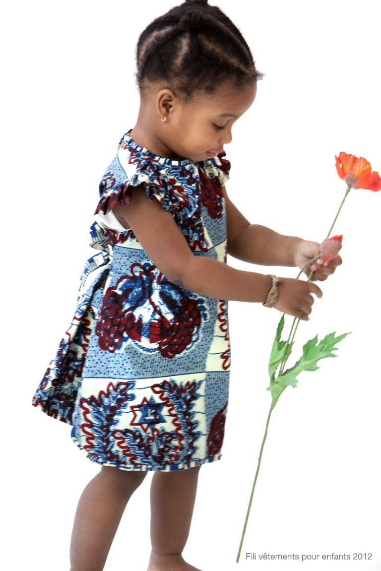 Fili par Felicite, la mode des imprimés africains pour enfant !