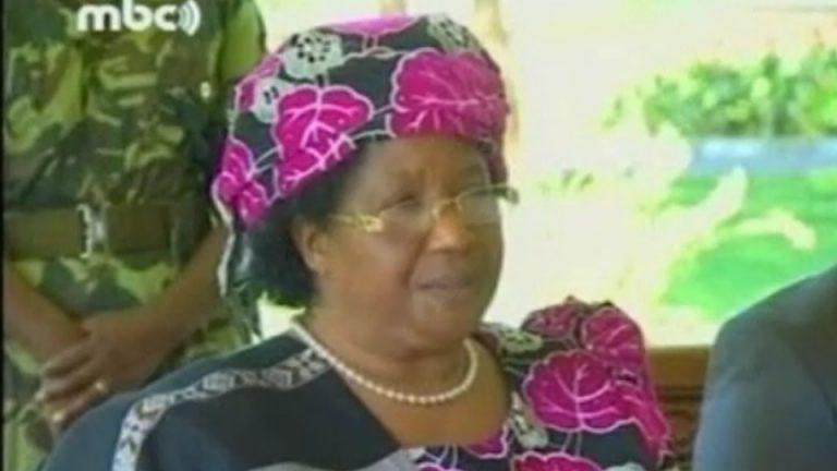 Joyce Banda, première femme présidente en Afrique australe