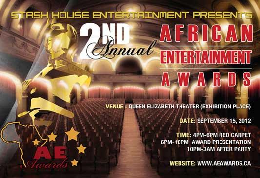 Lancement des African Entertainment Awards édition 2012