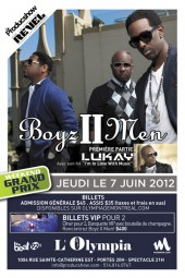 Concert des Boys II Men