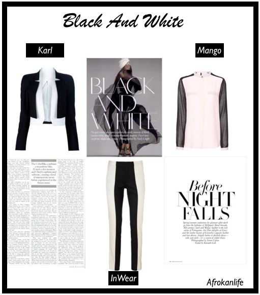 Comment porter le noir et blanc sans ressembler à un panda ?