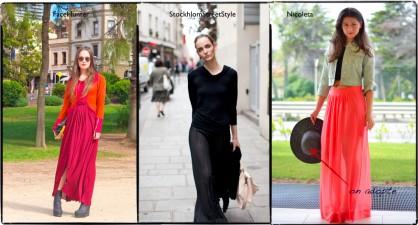 Comment porter la tendance robe longue d'été ?