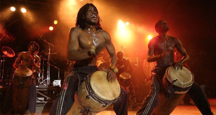 Les Tambours de Brazza en grande première à Montréal