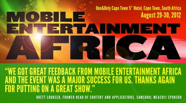 IROKO partenaire officiel des Mobile Entertainment Africa 2012