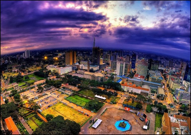 When you are a stranger in Nairobi by Nina Mayers