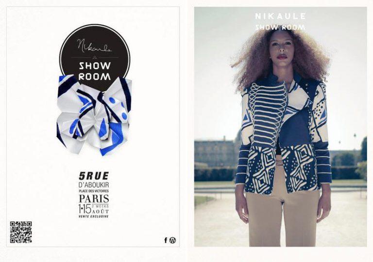 NiKaule Show Room à Paris du 1er au 15 août