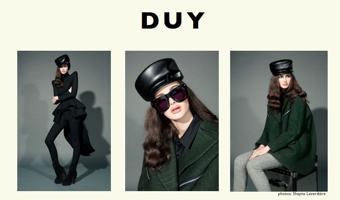 Interview – DUY Nguyen, Montreal's fashion designer