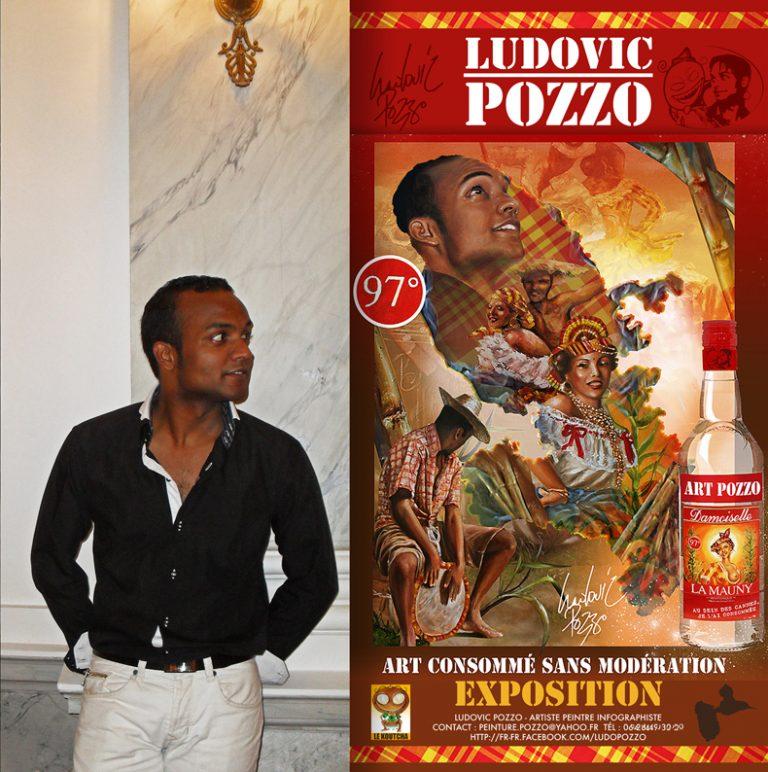 Afro Inspiration : Ludovic Pozzo, Artiste peintre et infographiste