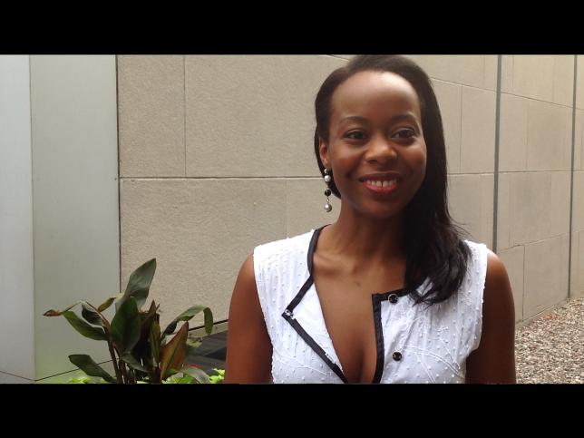Océlia Cartesse Journaliste afro