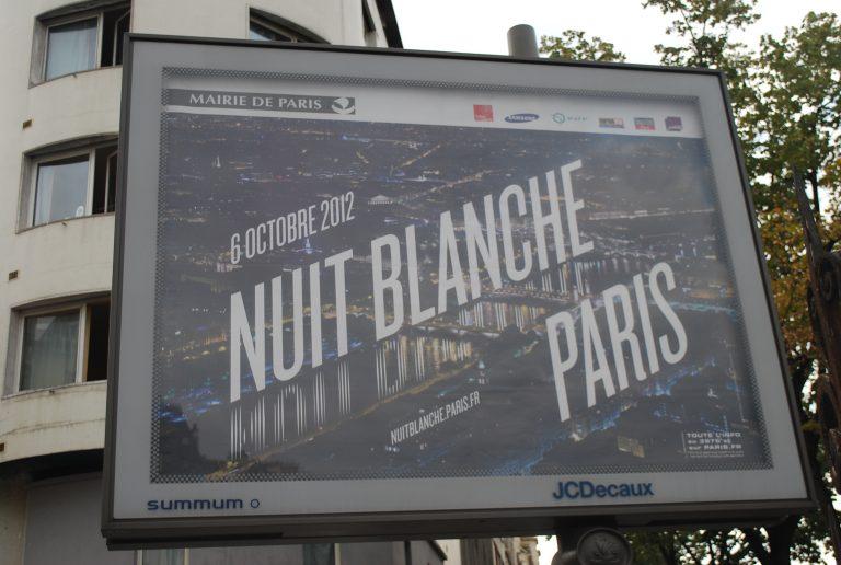 Que faire à la Nuit Blanche de Paris 2012 ?