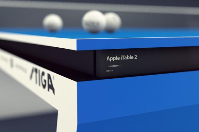 La table de Ping-Pong du futur version Apple !