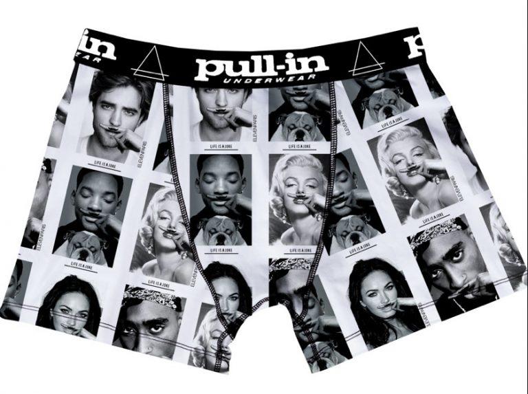 Toi aussi met Will Smith ou Tupac sur ton slip grâce à Pull In et Eleven Paris