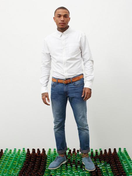 jean en plastique recyclable