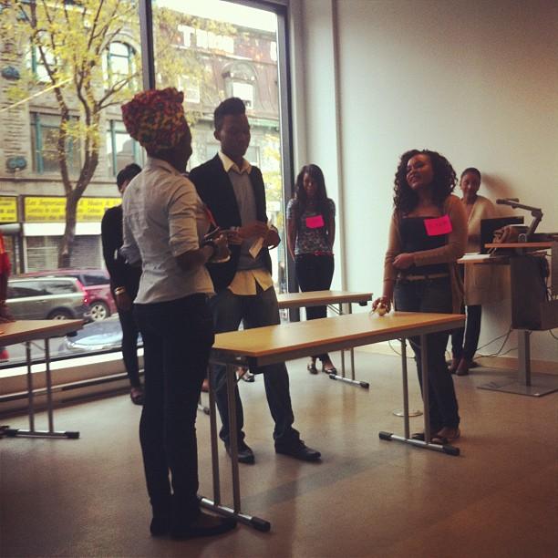 Les Miss Afrique Montréal 2013 à l'Institut Goethe !