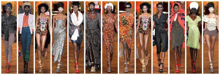 Les mannequins noires à la Fashion Week de Paris
