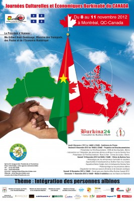 Journées culturelles du Burkina au Canada 2012
