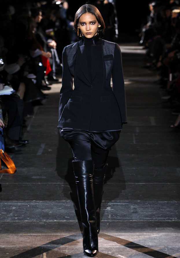 Cora Emmanuel au Défilé Givenchy automne-hiver 2012-2013