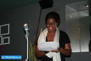 Karen Jonze, co-animatrice de l'émission Soul Perspectives, première a performer!