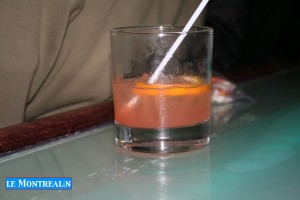 """Le cocktail spécial de la soirée """"Pink Pussy Cat"""""""