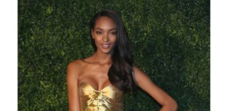 Jourdan Dunn en Burberry Prorsum