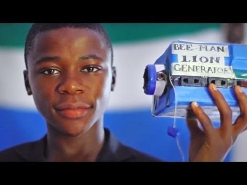 Kelvin Doe de la Sierra Leone intégre le MIT à l'age de 15 ans !