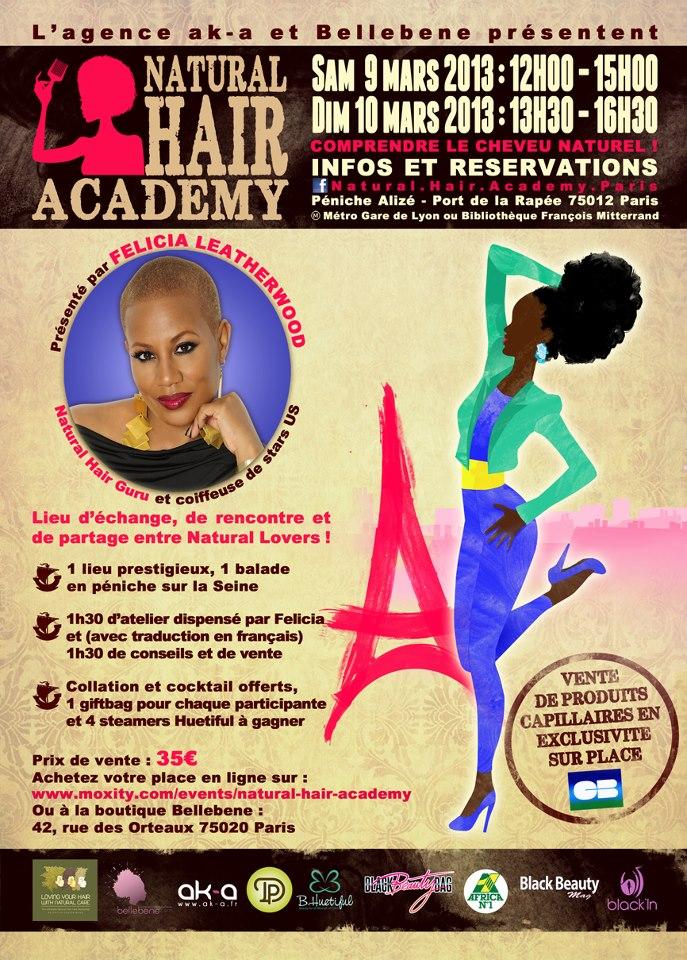 La Natural Hair Academy 2013, c'est parti !