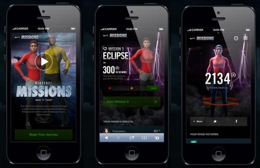 Nike Fuel Mission fonctionne avec votre smartphone