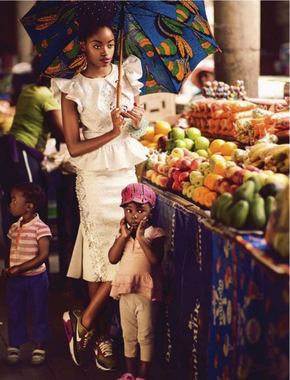 Sharleen Dziire – Elle South Africa January 2013