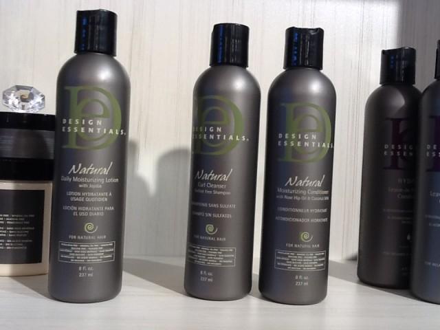design essentials à la boutique G l'Hair Pur