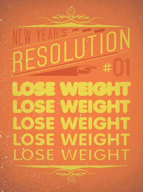 Resolution 2013 : Lose Weight