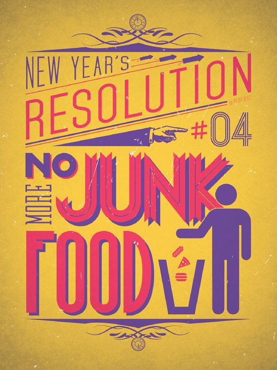 Resolution 2013 : No Junk Food