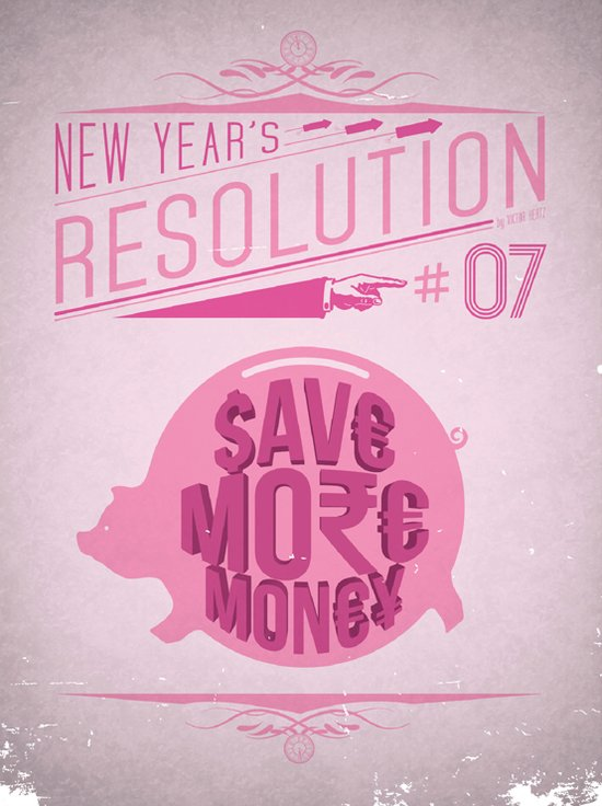 Resolution 2013 : Save More Money