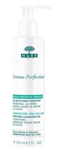 Nuxe aroma perfection gel nettoyant