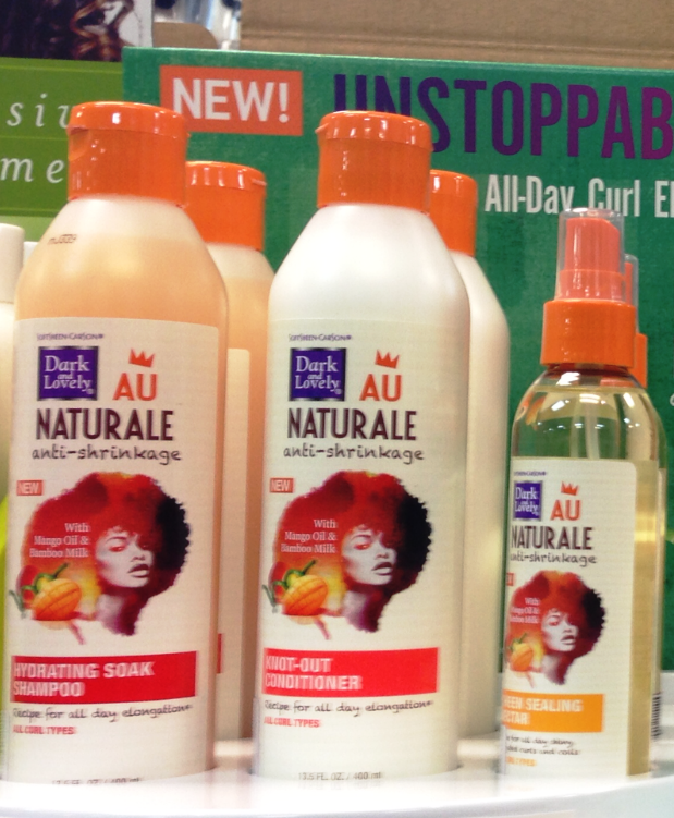 au naturale by dark and lovely shampoo and conditioner