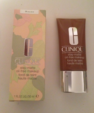 clinique stay matte minimiser les effets de la brillance