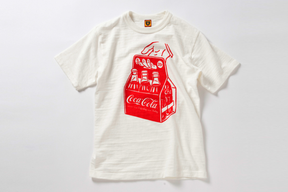 coca-cola x human made x beams collection 1