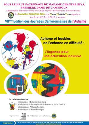 La 7ème édition des Journées Camerounaises de l'Autisme