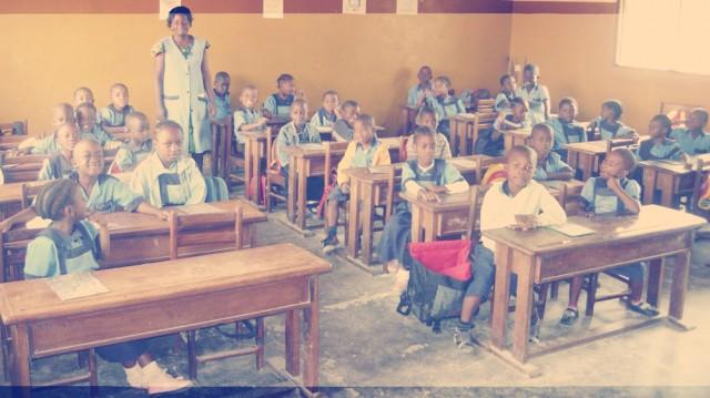 classe du village denfants de mbalmayo