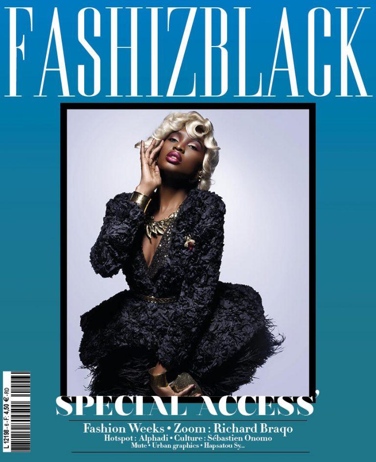 Le magazine de mode afropolitaine FashizBlack de retour en 2013 !