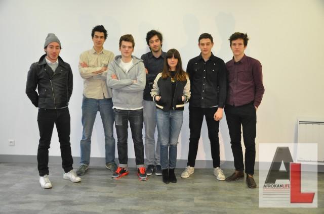 L'équipe du HUIT c'est aussi Pierre,  Louis, Yohan, Theodor et  Eliot