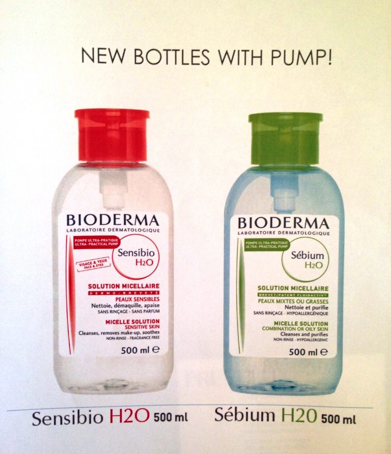 Les Essentiels de Botanikap – Bioderma introduces new Bottles with PUMP