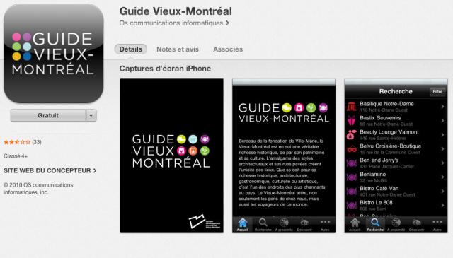 2. App mobile qui sert de guide pour les villes - business mobile en Afrique