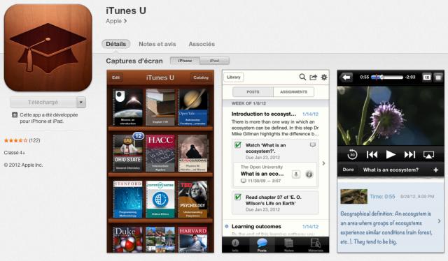 4. App mobile pour l'éducation