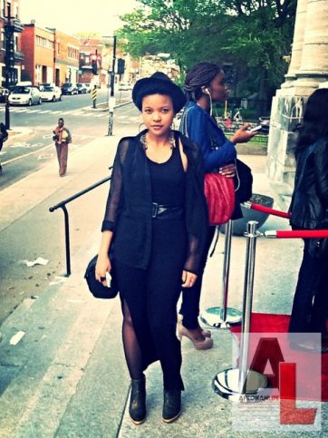 Annaelle Stephanie Montreal Street Style Black Fashion Week 6