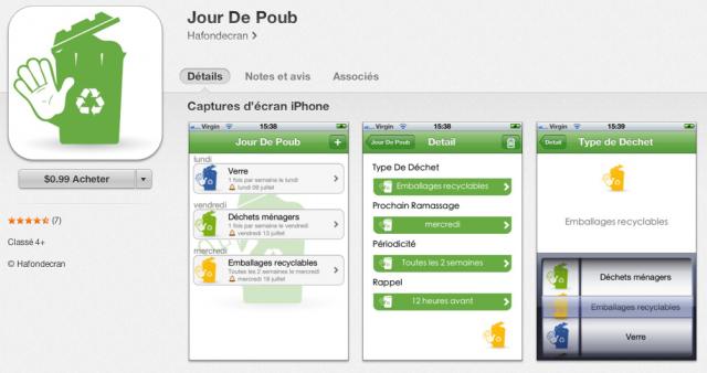 App mobile pour gérer le recyclage des mobiles