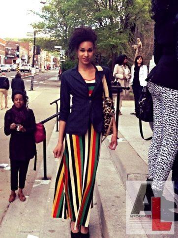 Honey Montreal Street Style Black Fashion Week 5